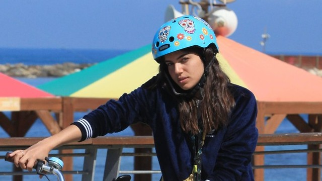 שלומית מלכה חוף הים (צילום: מוטי לבטון)