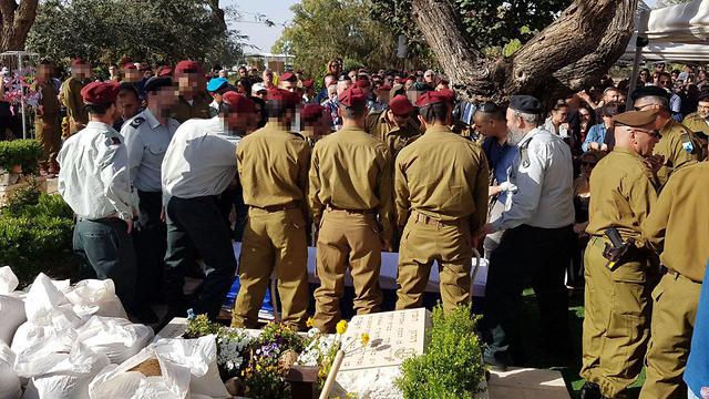 Staff Sgt. Strug's funeral (Photo: Yariv Katz)