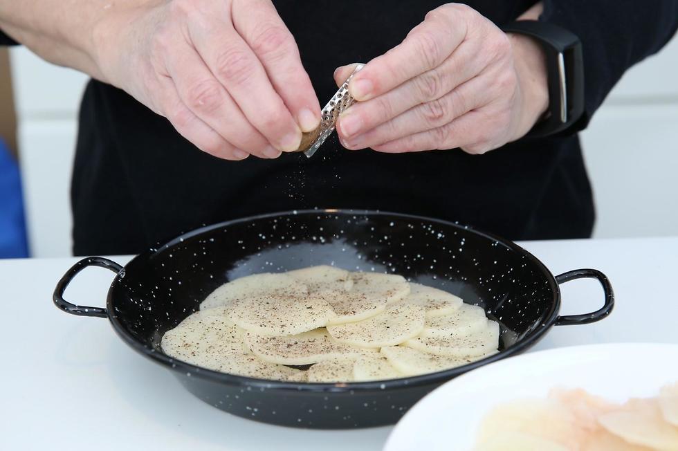 מאפה תפוחי אדמה (צילום: ירון ברנר)