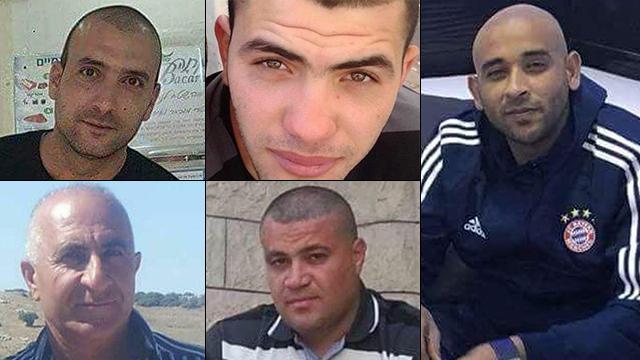 נרצחים באירועי ירי באום אל פחם ()