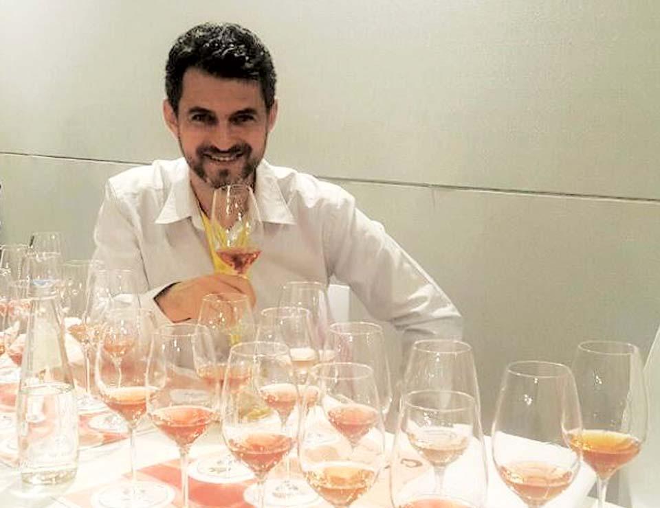 На выставке вина в Италии. Фото из личного архива