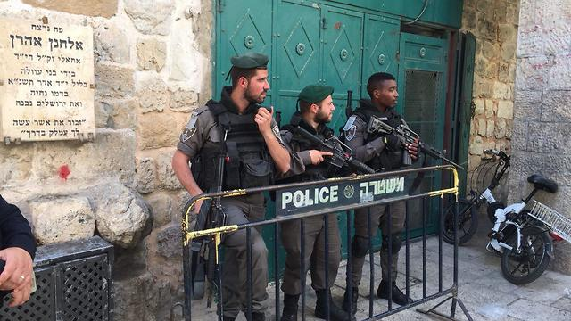 File photo. Border Policemen in Jerusalem's Old City (Photo: Yuval Ozeri)