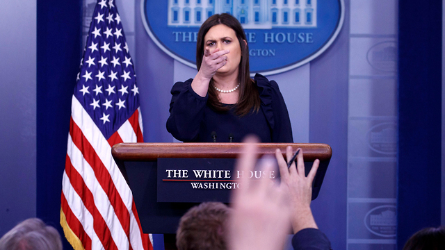 White House spokeswoman Sarah Sanders (Photo: EPA)