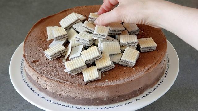 עוגת מוס ללא גלוטן (צילום: נטלי לוין)