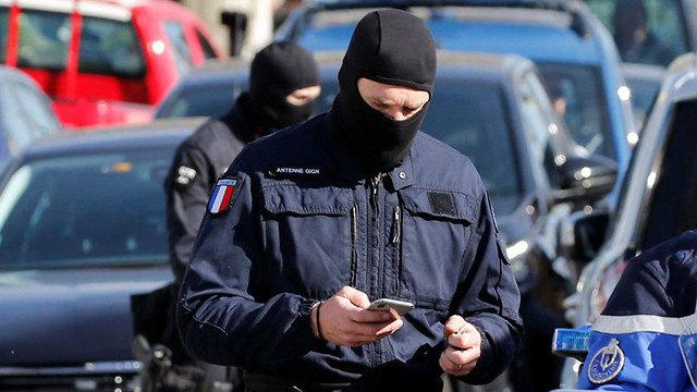Les forces de police sur les lieux de l'attaque (Photo: Reuters)