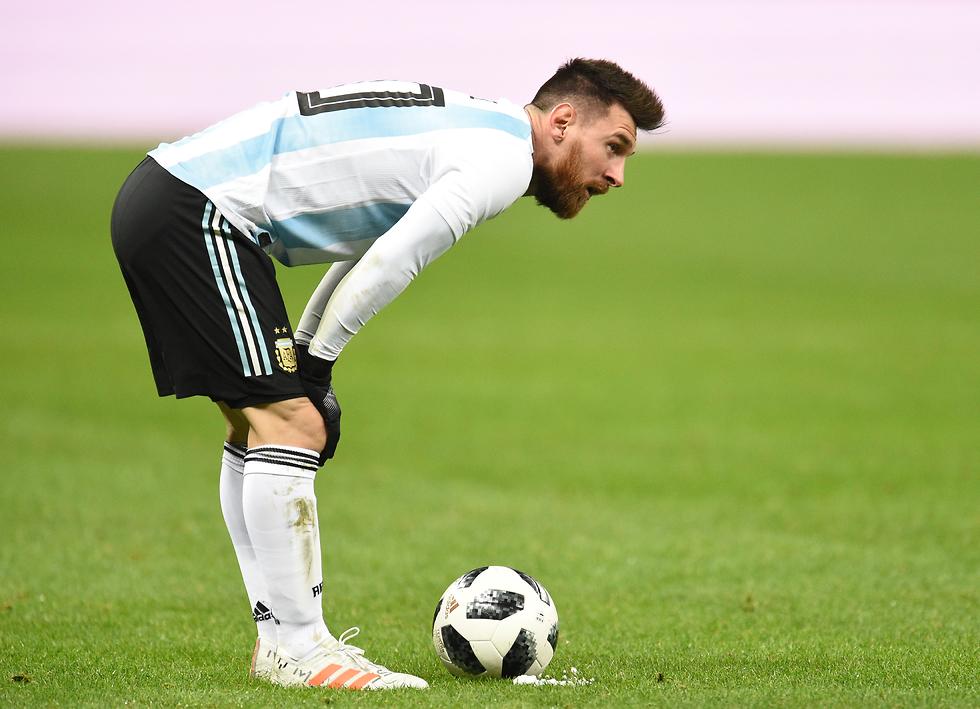 ליונל מסי נבחרת ארגנטינה (צילום: gettyimages)