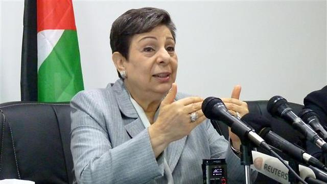 Hanan Ashrawi (Photo: Reuters)
