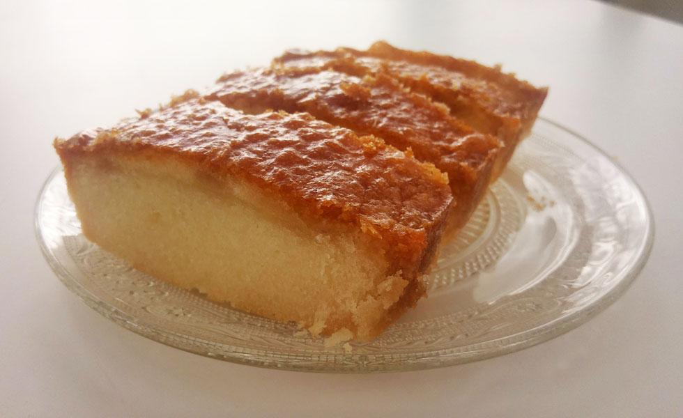 עוגת מייפל ושוקולד לבן (צילום: אבירם פלג)