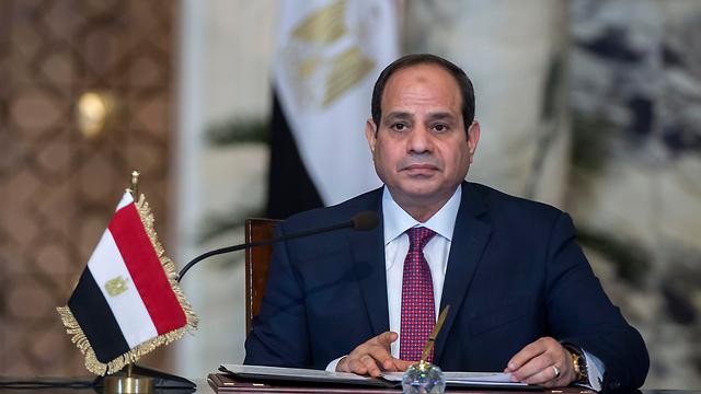 נשיא מצרים עבד אל-פתאח א-סיסי (צילום: AFP)