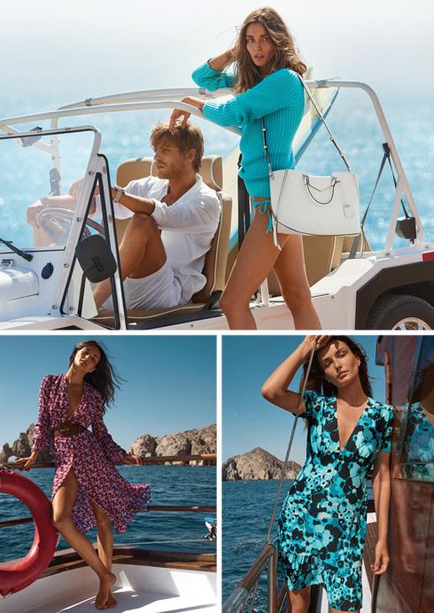 מייקל קורס. פריטי אופנה אלגנטיים עד מידה 46 ומגוון תיקים מוצלחים