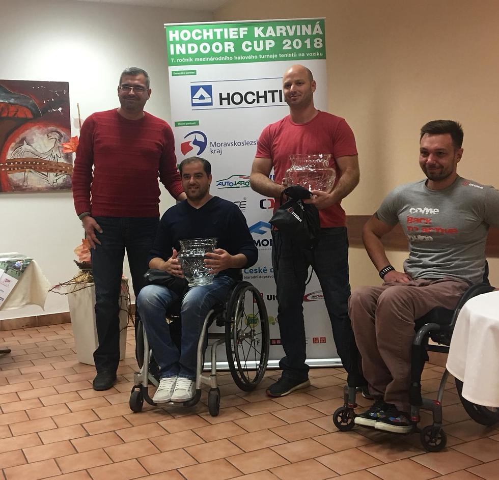 אסי סטרול אדם ברדיצ'בסקי טניס בכיסאות גלגלים טניס נכים (צילום בחסות איל