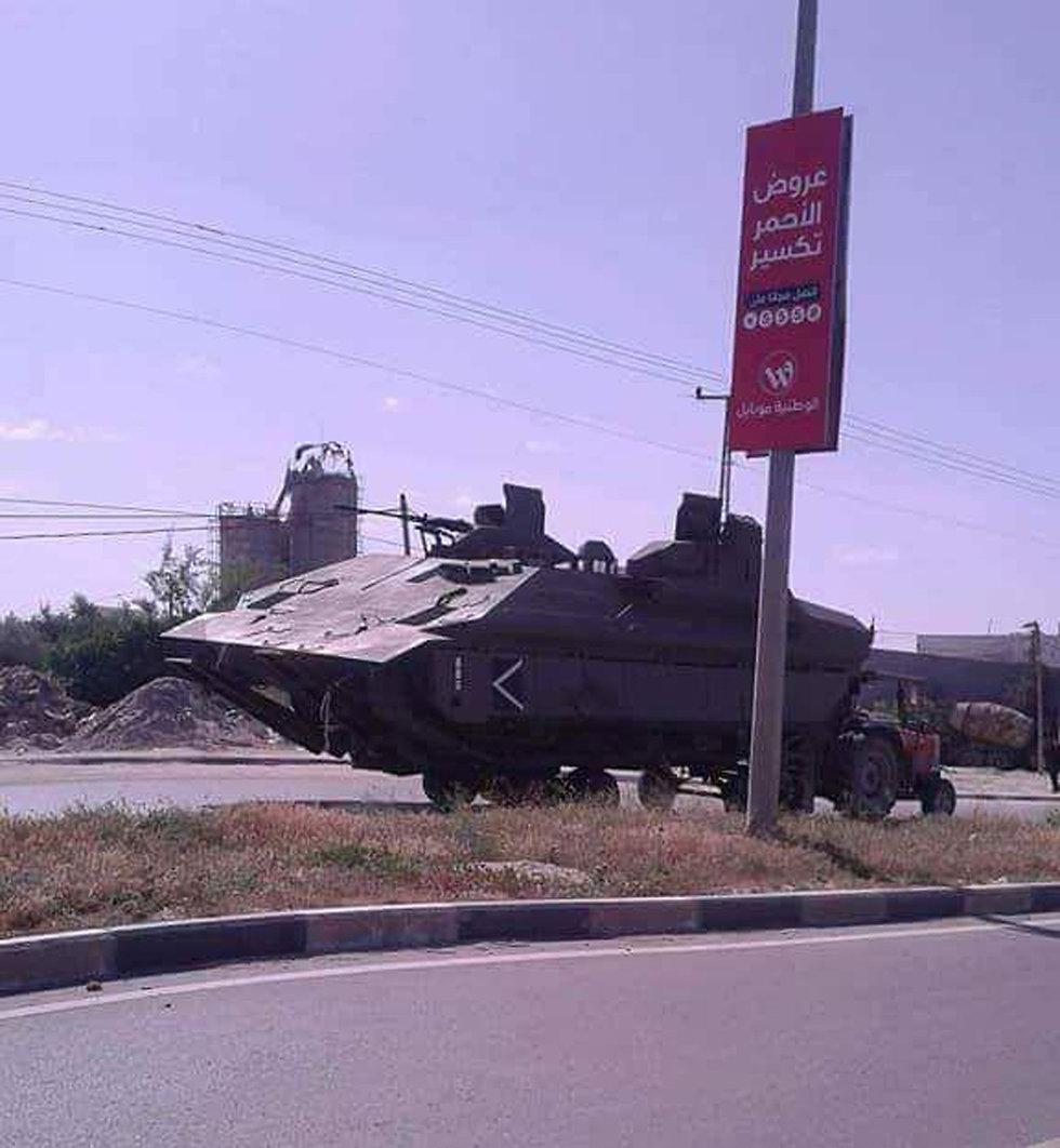 Replica of Israeli tank