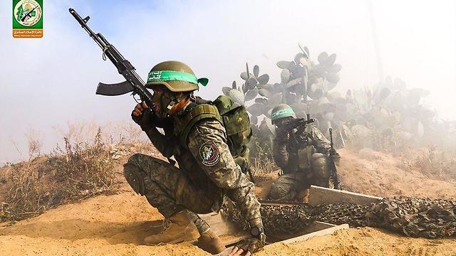 תמרון צבאי ברצועת עזה של חמאס ()