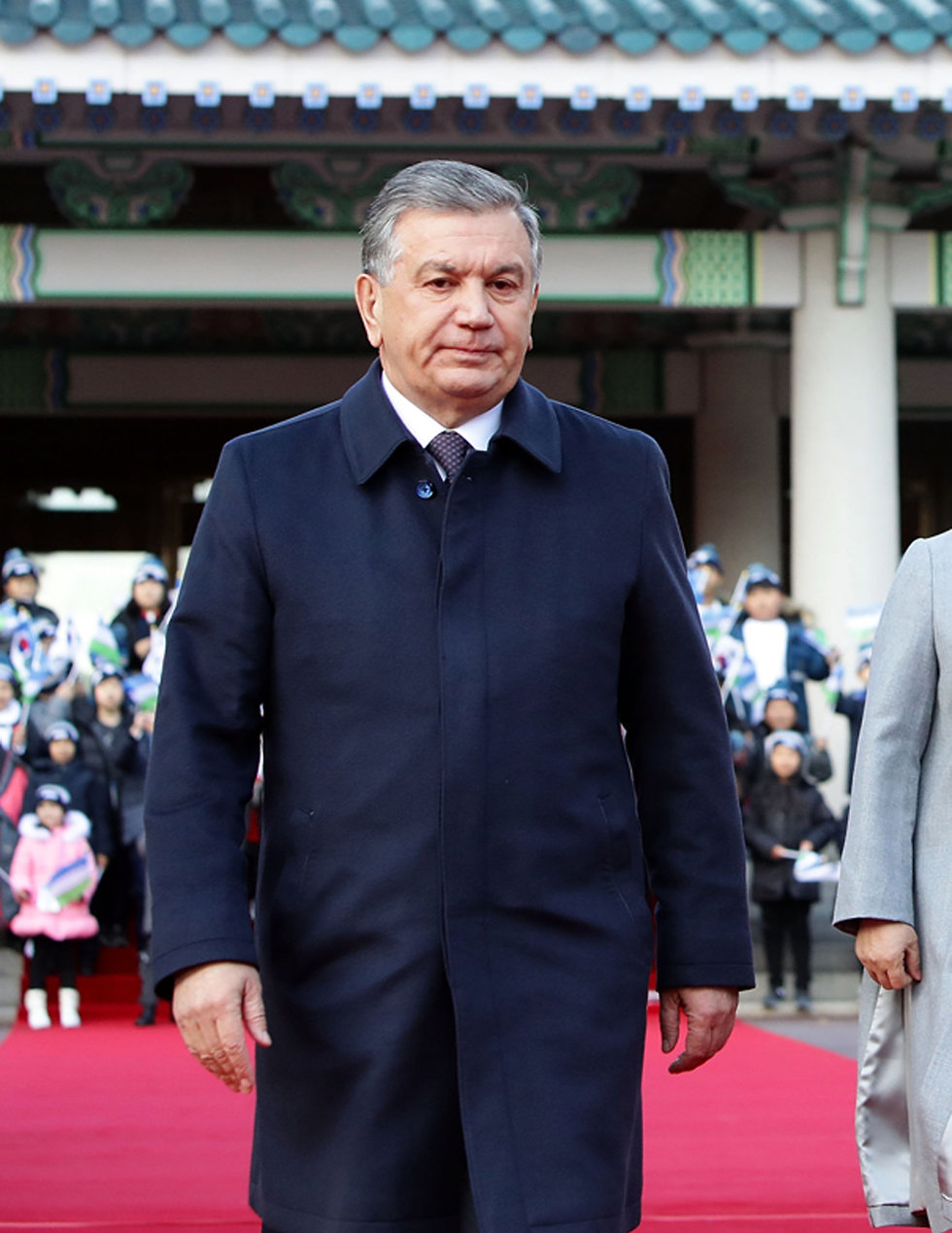 שבקט מירזייאיב, נשיא אוזבקיסטן (צילום: Franjo Lozancic)