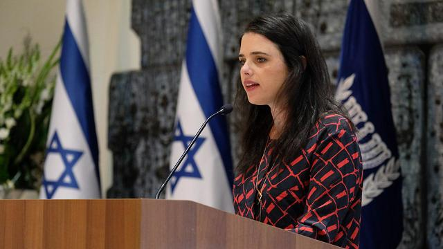 Ayelet Shaked (Photo: Yoav Dudkevitch)