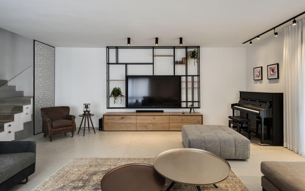 דירה בעיצוב ניצן הורוביץ (צילום: עודד סמדר)