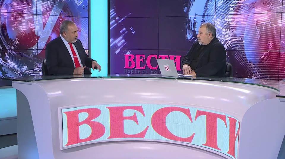 В студии Вести - Ynet