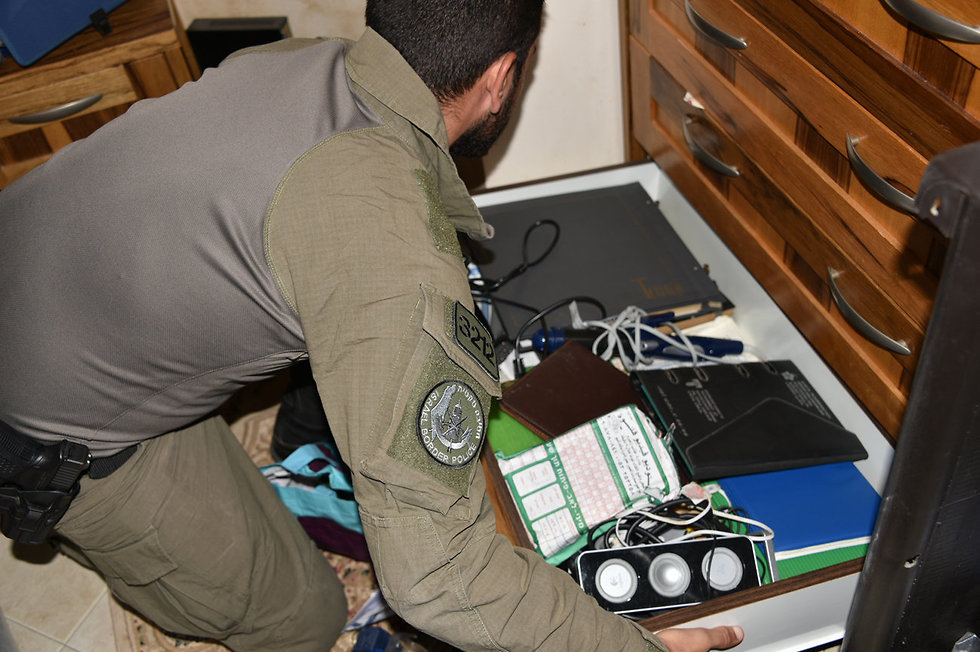 מבצע ביעור חמץ של המשטרה מעצר שבח