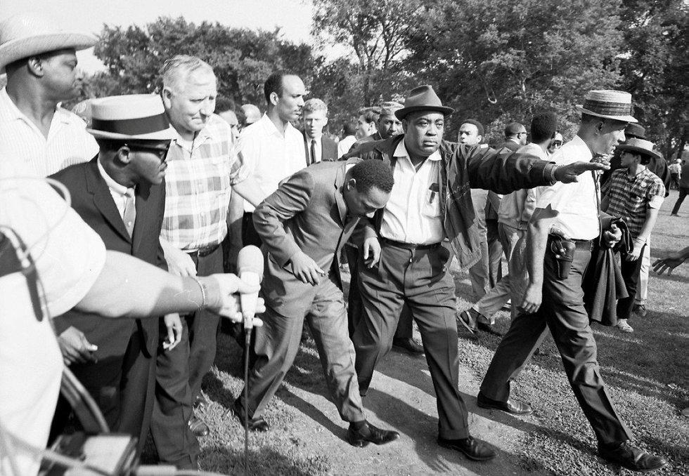 מרטין לותר קינג (צילום: Bettmann Archive באדיבות yes דוקו)