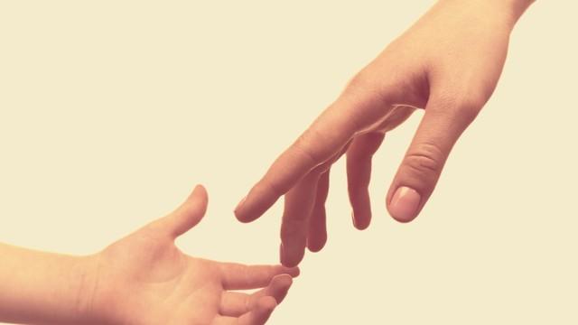 יד של אימא וילד (צילום: shutterstock)