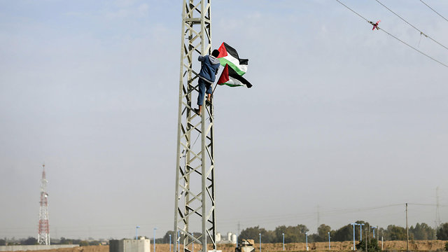 Palestinians preparing for mass protests near Gaza border (Photo: AFP)