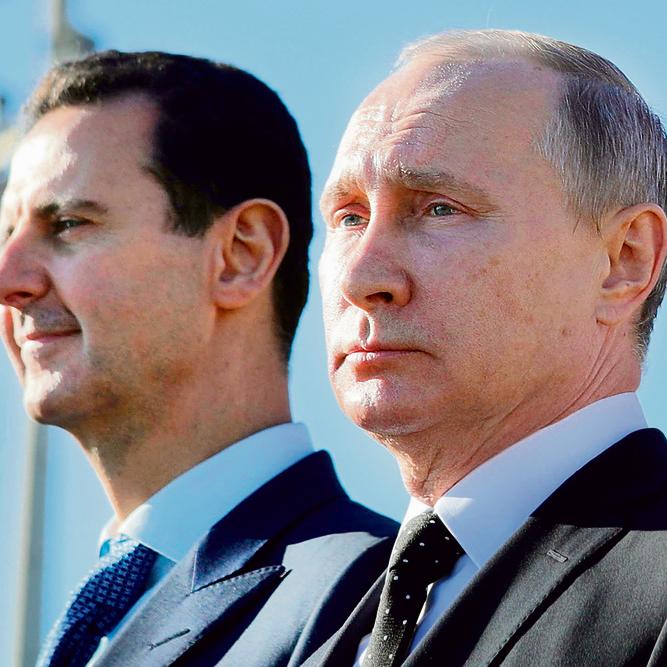 """ולדימיר פוטין ובשאר אסד. הלוי: """"בנושאים כל כך גורליים כמו סוריה והקשר עם רוסיה, ראש הממשלה שלנו צריך לומר לציבור את האמת"""""""