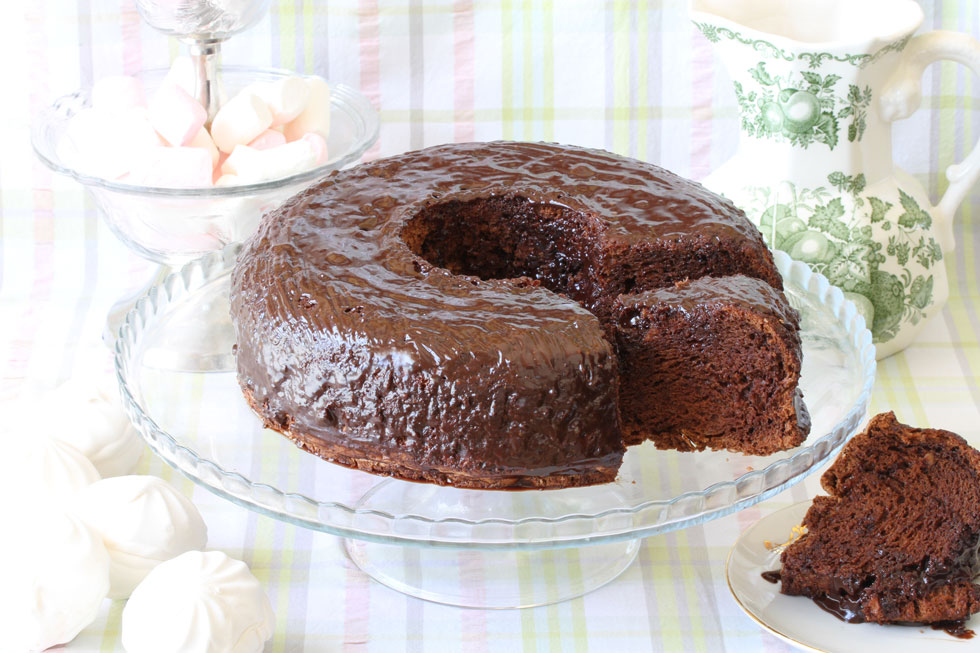 עוגת שוקולד לפסח (צילום, סגנון והכנה: אסנת לסטר)