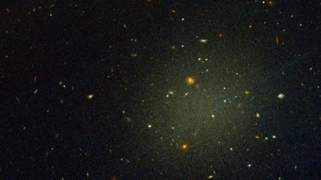 הדמיה של חומר אפל (צילום: מתוך המחקר)