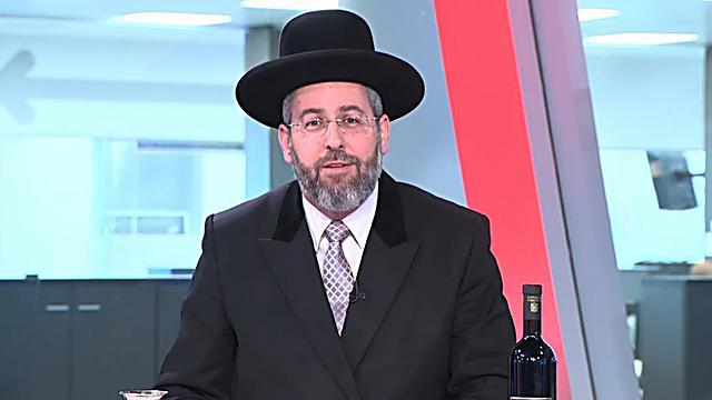 Chief Rabbi Dovid Lau (Photo: Ynet)