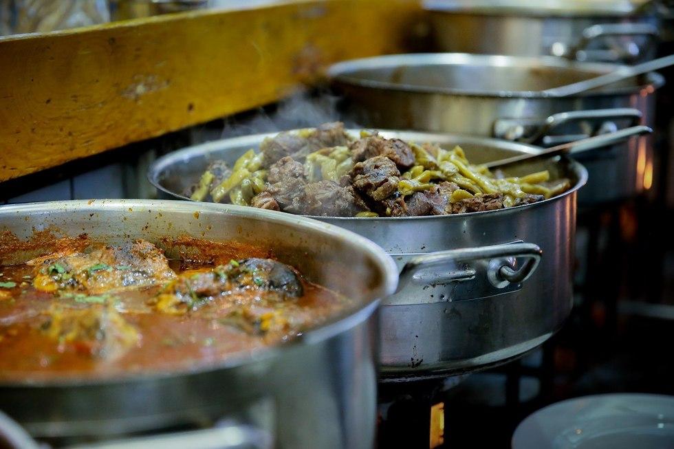 מסעדת עזורה תל אביב (צילום: ירון ברנר)