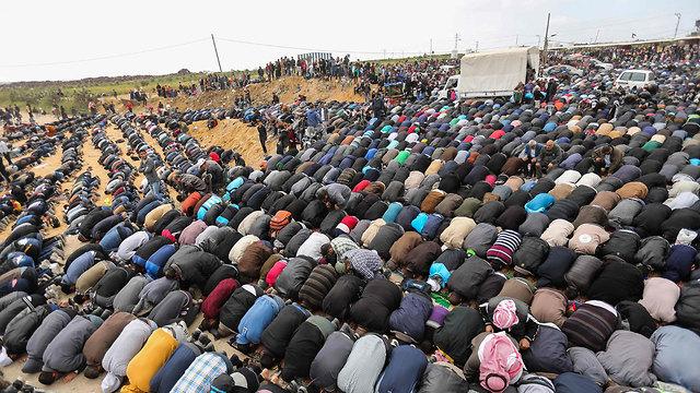 יום האדמה (צילום: AFP)