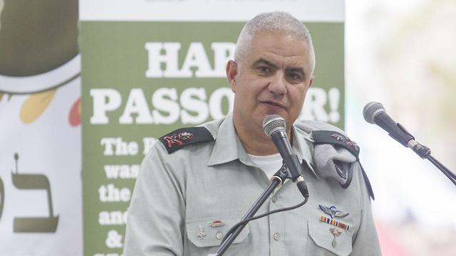 The head of the IDF Manpower's Directorate, Maj. Gen. Moti Almoz (Photo: Ido Erez)