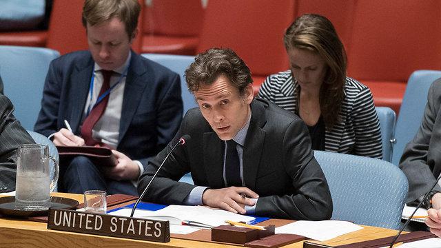 Walter Miller, an adviser at Washington's UN mission (Photo: AP)