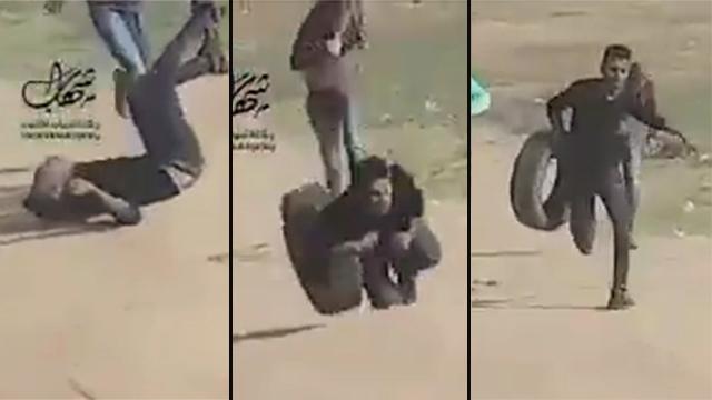 Al-Nabi getting shot