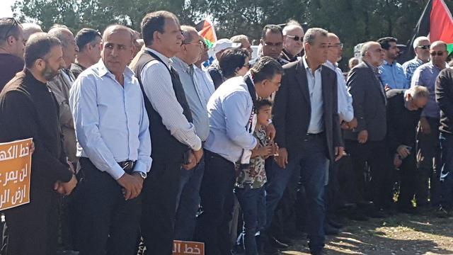 הפגנות באום אל פאחם ()