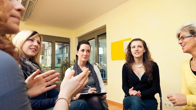 טיפול קבוצתי (צילום: shutterstock)