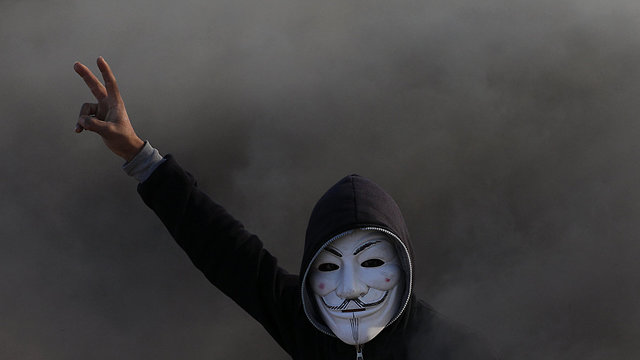 Saturday's clashes at the Gaza border (Photo: EPA)