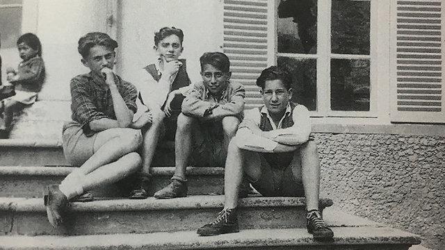 ילדים בבית היתומים של לאה קיכלר (מתוך ספר