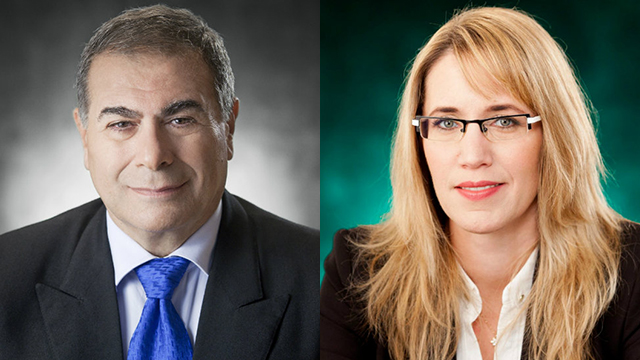 עורכי הדין חיה ודוד מנע (צילום: ראובן קפוצ'ינסקי)