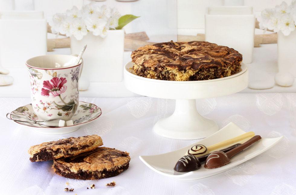 עוגת שיש לפסח (צילום: אסנת לסטר)