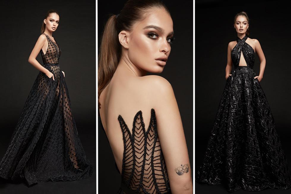 בין המועמדים לעצב שמלה לנטע ברזילי: מתן שקד (צילום: הילה שייר)