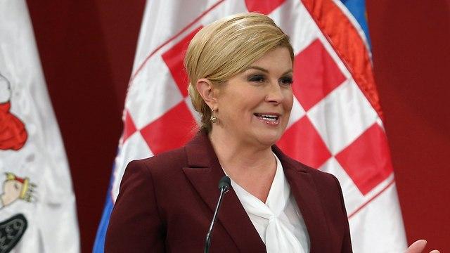 Croatia's President Kolinda Grabar-Kitarovic (Photo: AFP)