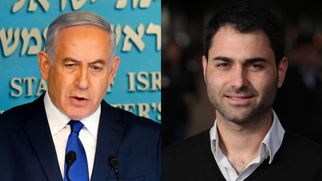 Following an attack by PM Netanyahu (L), Mickey Gitzin's New Israel Fund received NIS 250,000 in donations (Photo: AFP)