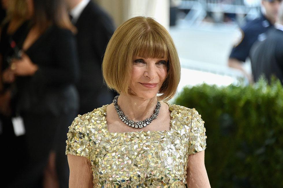 """אנה ווינטור. הפכה את מגזין ווג לתנ""""ך האופנה הבינלאומי ויצרה דמות שנויה במחלוקת כאחת הנשים החזקות בתעשייה (צילום: Mike Coppola, Gettyimages IL)"""