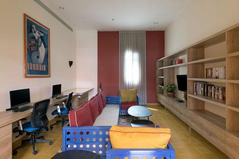 חדר המחשבים (צילום: גדעון לוין)