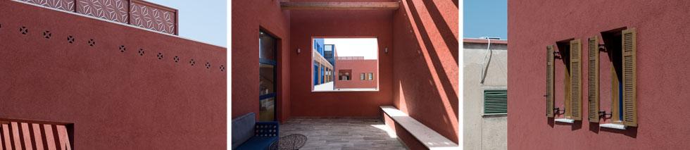 חלונות ופתחים בקומת המגורים וקומת הגג. תחושה פתוחה (צילום: גדעון לוין)