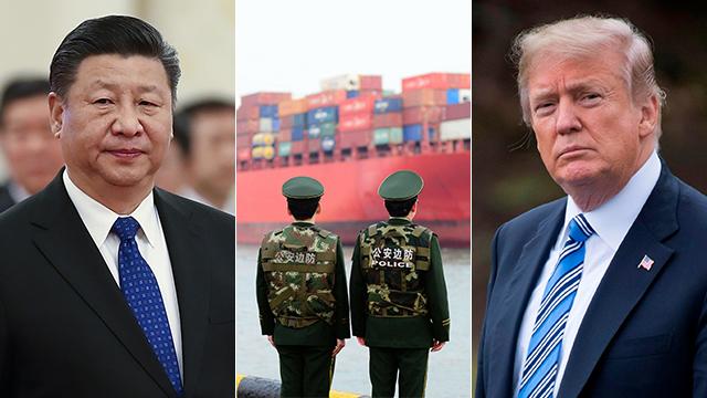 דונלד טראמפ ושי ג'ינפינג (צילום: EPA, AFP, gettyimages)