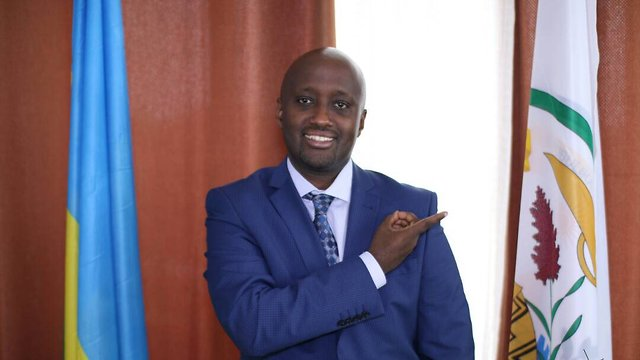 Rwanda's Deputy Minister of Foreign Affairs Nduhungirehe said his country did not know what the New Israel Fund was (Photo: Twitter)
