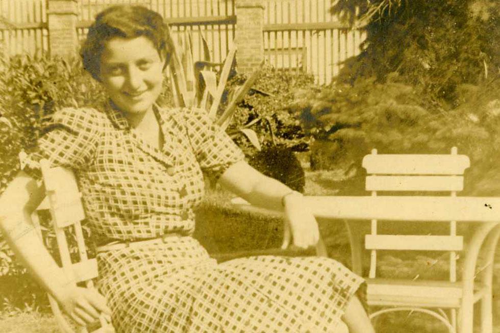 צילום: משפחת סנש וארכיון בית חנה סנש, שדות ים (מתוך אתר פיקיויקי)