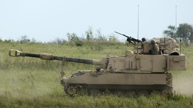 Paladin howitzers will be included in the American $1.3 billion arms deal with Saudi Arabia (Photo: AP)
